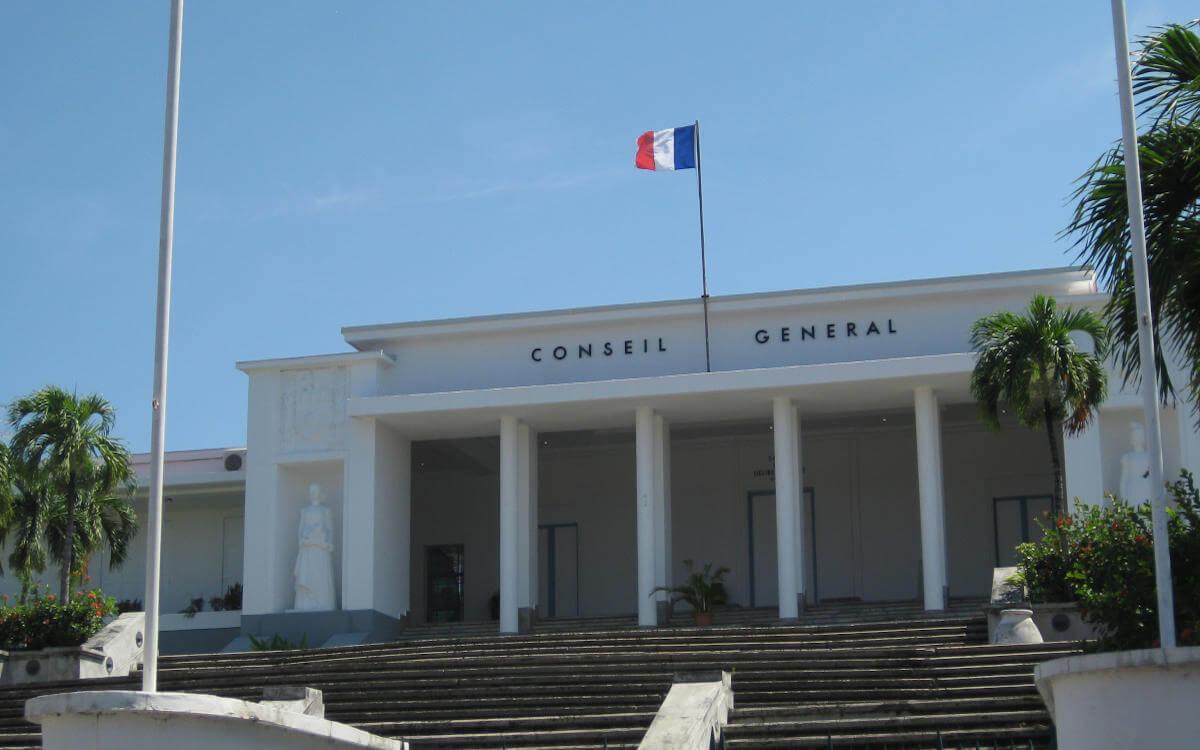 Conseil Generale bei Geschichte von Guadeloupe