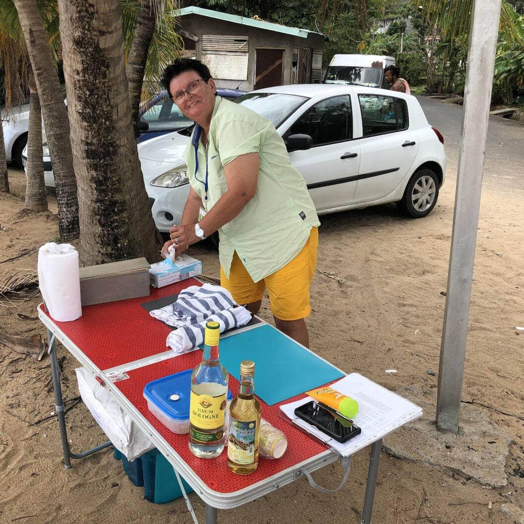 Auf Tour Picknick am Strand mit BleuPearl