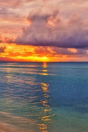 Sunrise in Guadeloupe