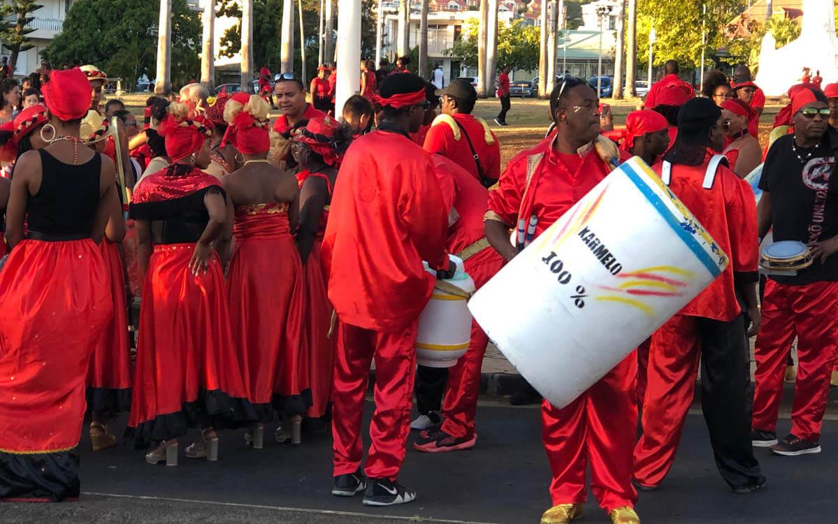 Musik und Tanz bei Kultur Guadeloupe