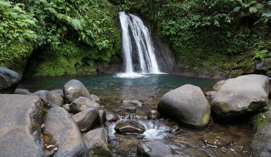 Ecrevisses Wasserfälle, Tour A - Paradiese von Basse-Terre