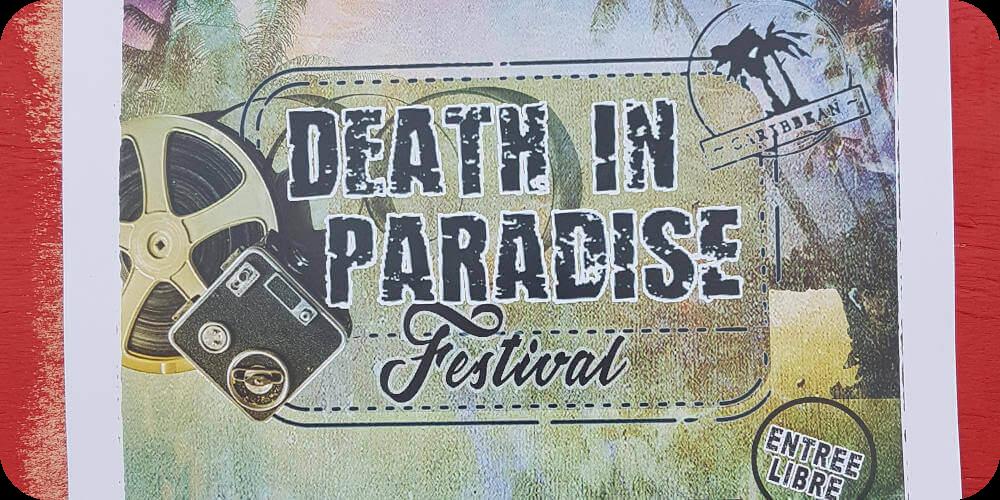 Guadeloupe, Deshaies, Filmset Death in Paradise Bleupearl's Tour A - Paradiese von Basse-Terre