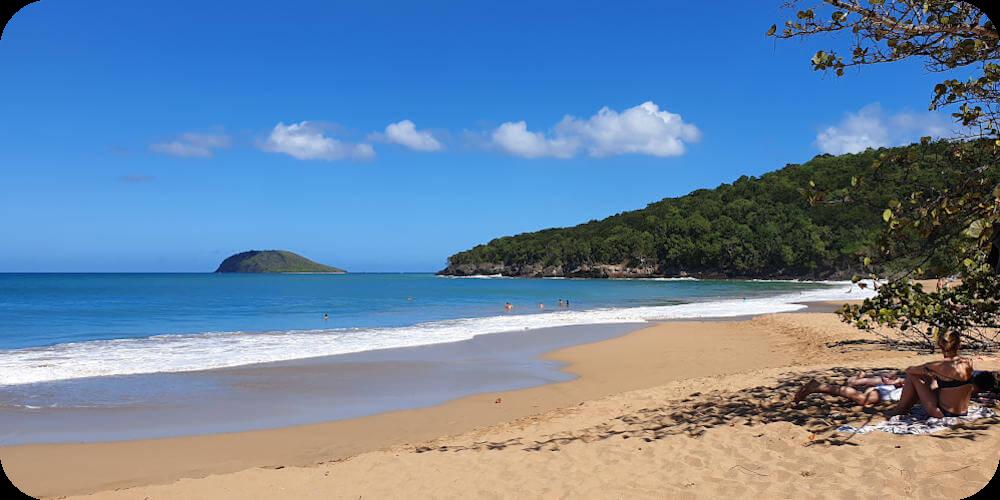 Guadeloupe, Plage la Perle, Bleupearl's Tour A - Paradiese von Basse-Terre